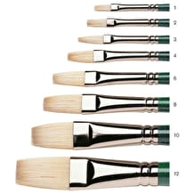 Winsor & Newton Winton Long Handle Long Flat Brush